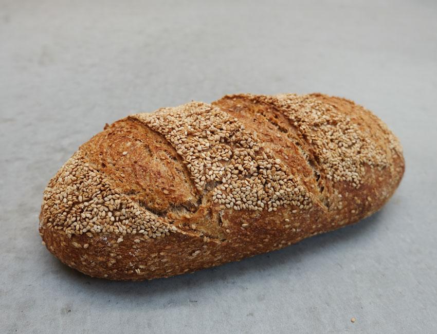 foto van Sesambrood