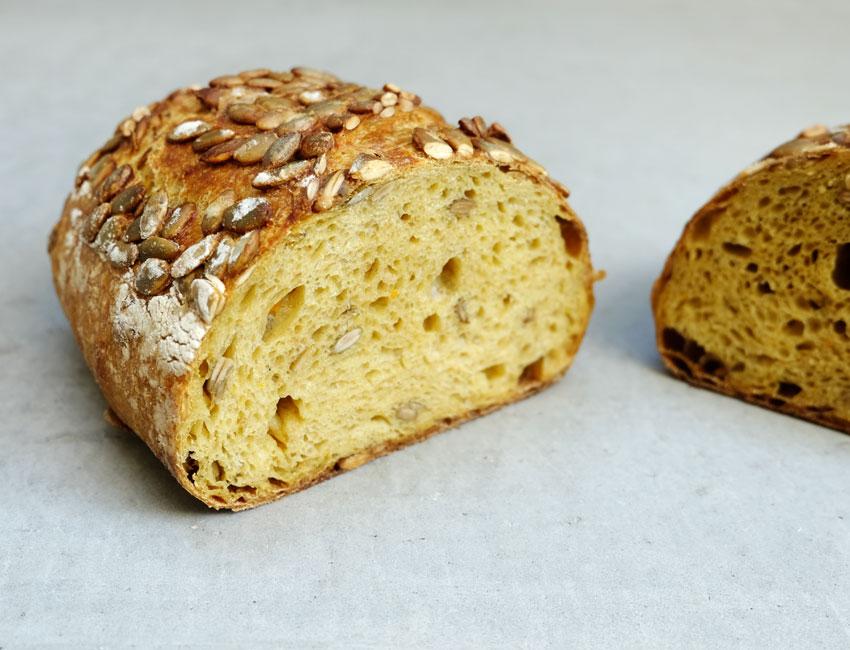 foto van Pompoenbrood