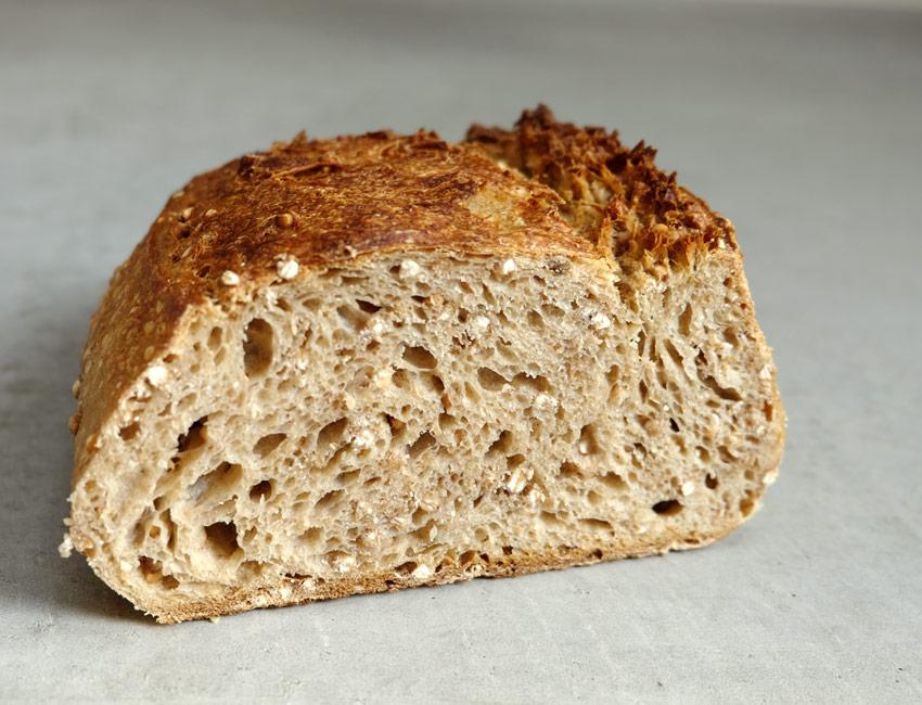 foto van Broodje boekweit